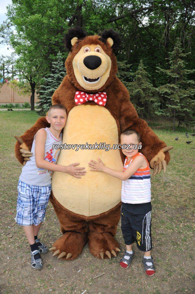 Медведь из маши и медведь своими руками